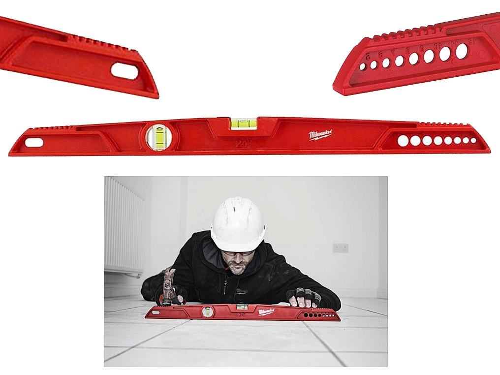 MILWAUKEE REDCAST poziomica aluminiowa 60cm