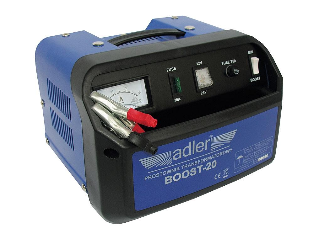 ADLER BOOST 20 prostownik do akumulatorów