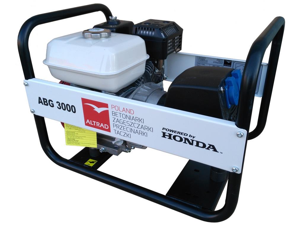 ALTRAD ABG3000 agregat prądotwórczy 3,0kW 230V