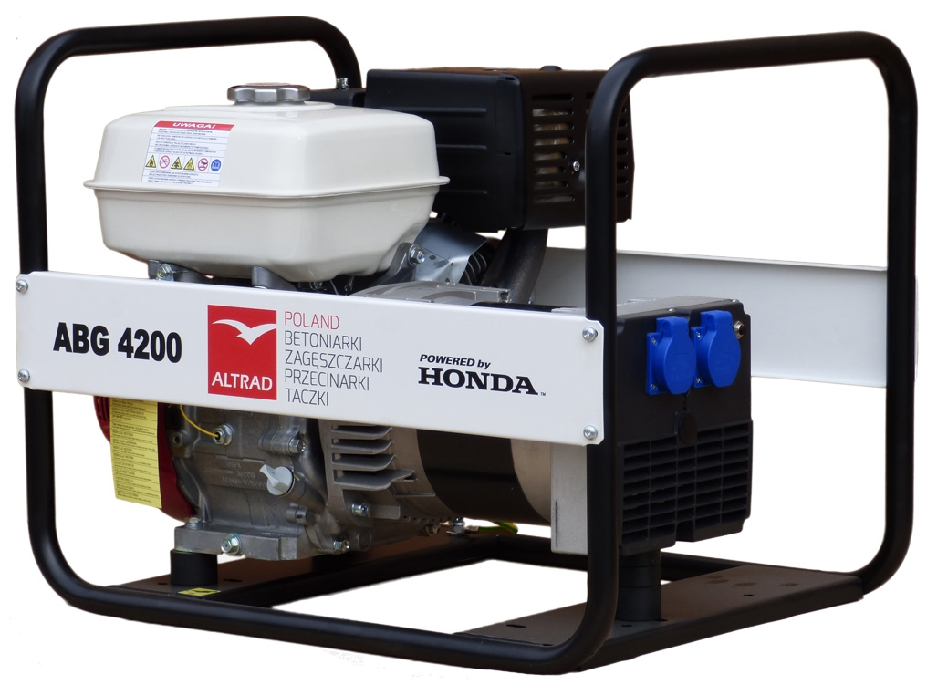 ALTRAD ABG4200 agregat prądotwórczy 4,2kW 230V AVR