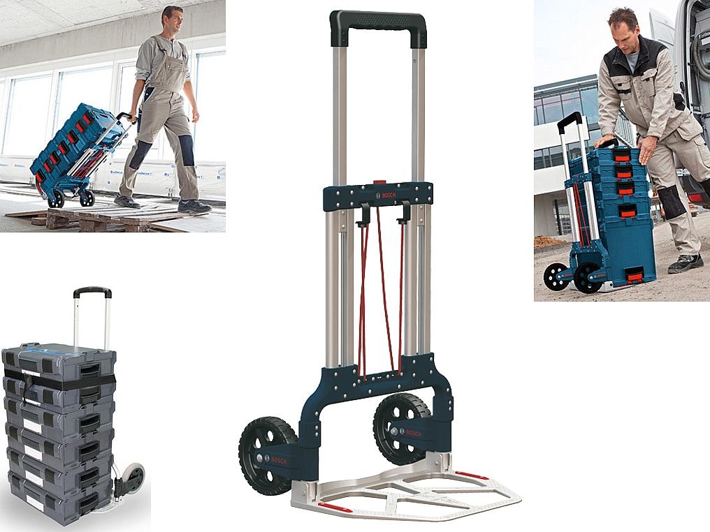 2365f14c4b42b BOSCH wózek transportowy CADDY - walizka L-BOXX - TRANSPORTOWANIE ...