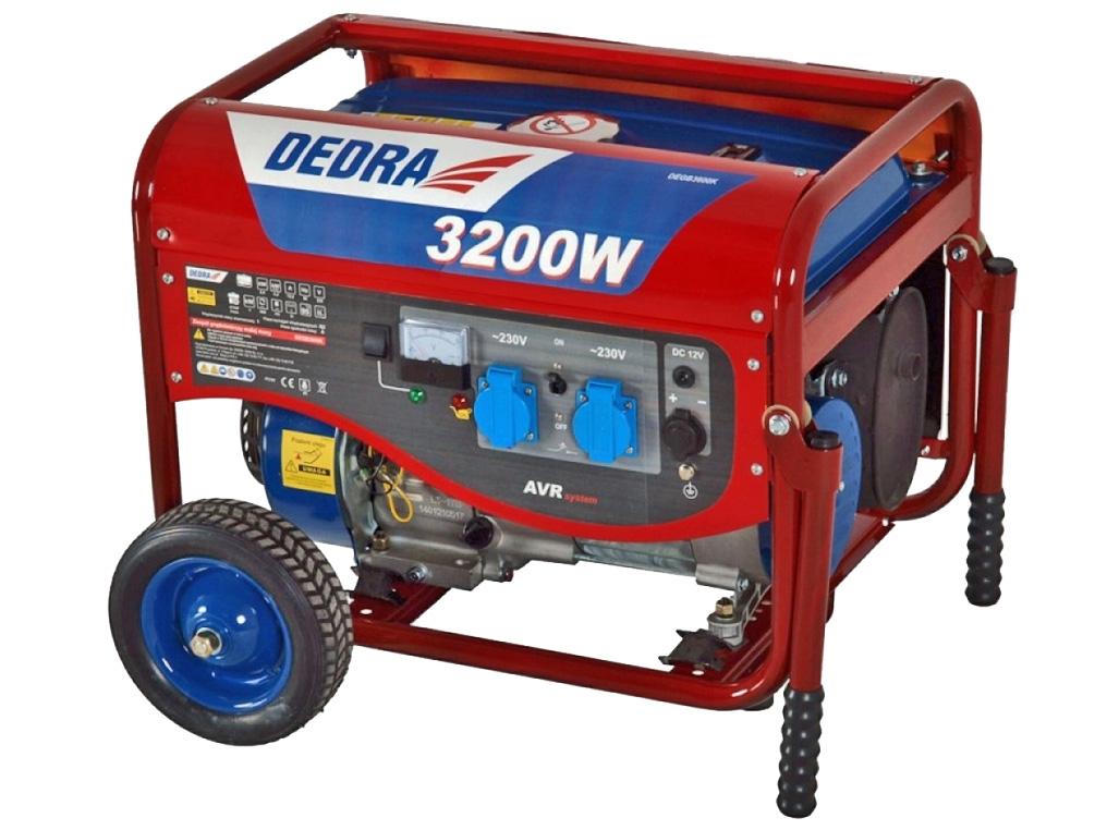 DEDRA DEGB3600K agregat prądotwórczy 3,2kW