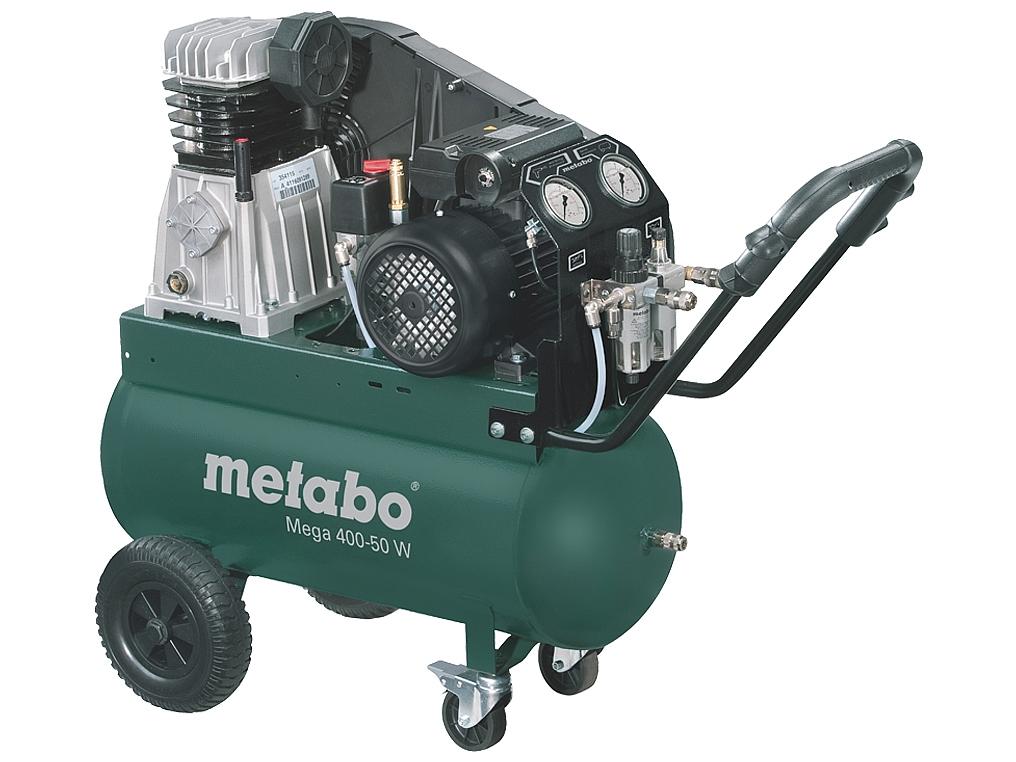 METABO MEGA 400-50W sprężarka kompresor 50L 10bar
