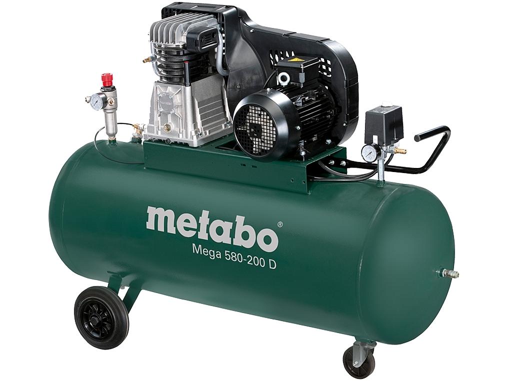METABO MEGA 580-200D sprężarka kompresor 200L 400V