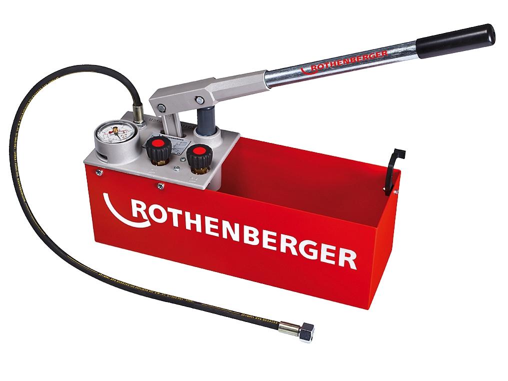 ROTHENBERGER RP 50 S pompa kontrolna testowa 60bar