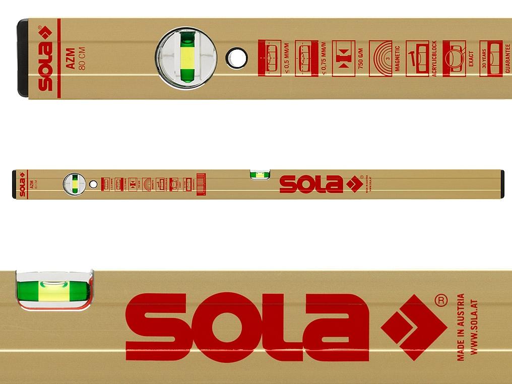 SOLA AZM40 poziomica magnetyczna 40cm