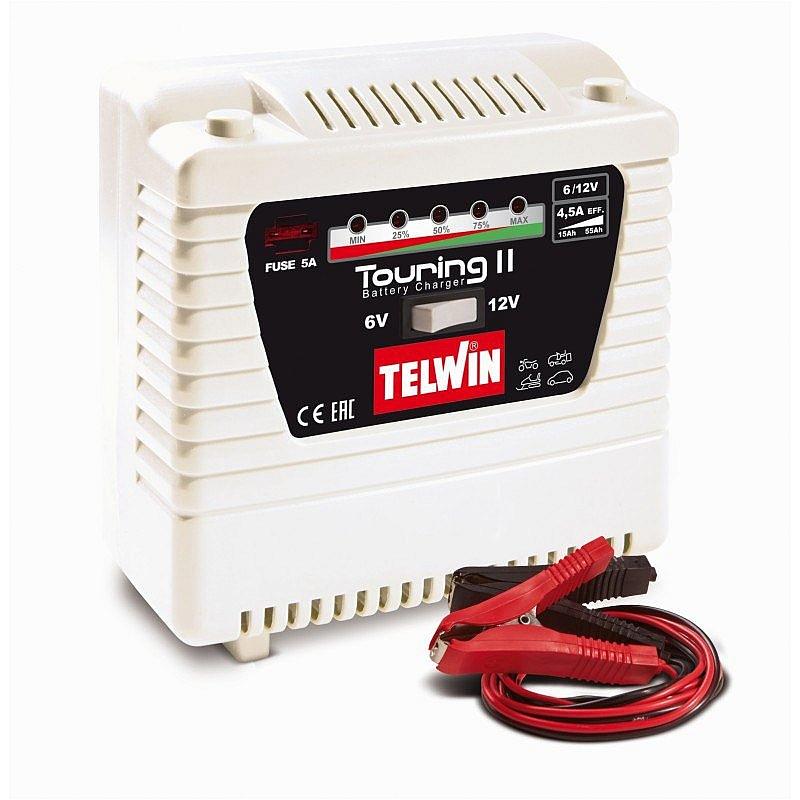 TELWIN TOURING 11 prostownik 6/12V 115Ah