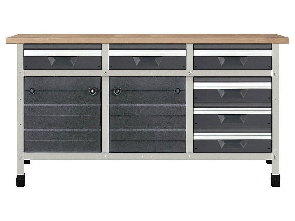 WOLFCRAFT 8079000 stół warsztatowy 1610mm
