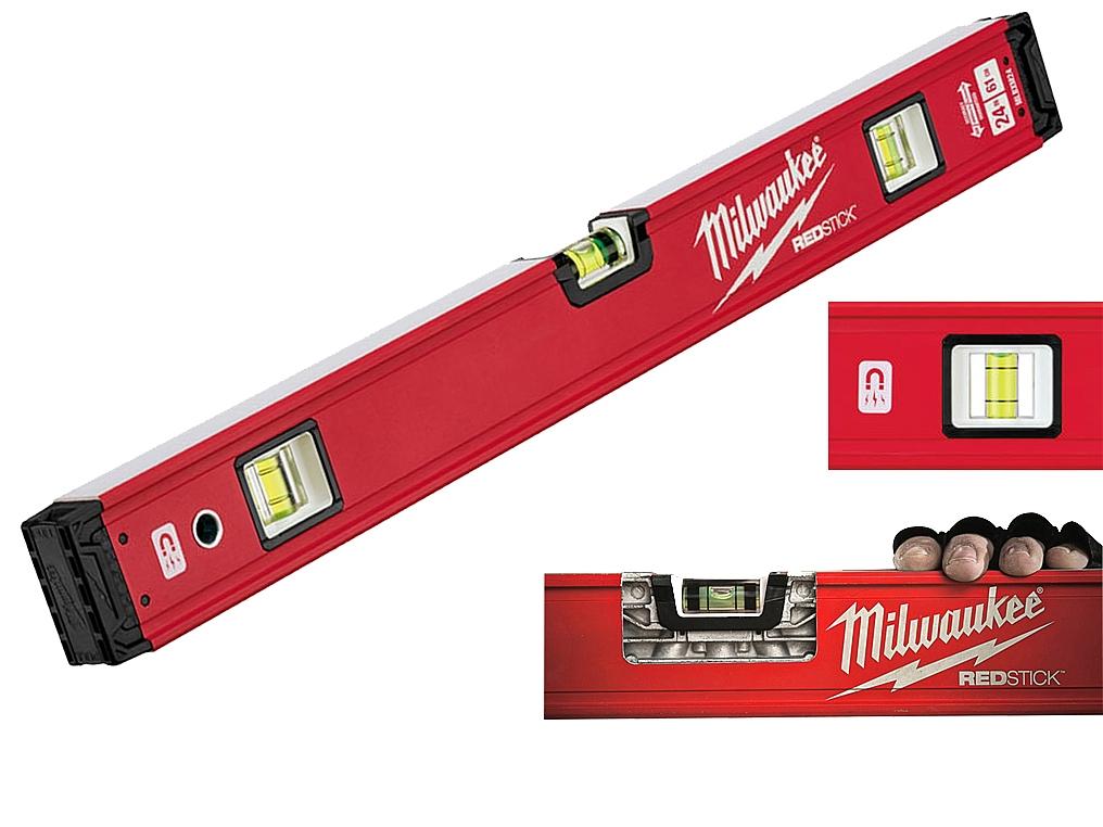 MILWAUKEE REDSTICK poziomica magnes 60cm