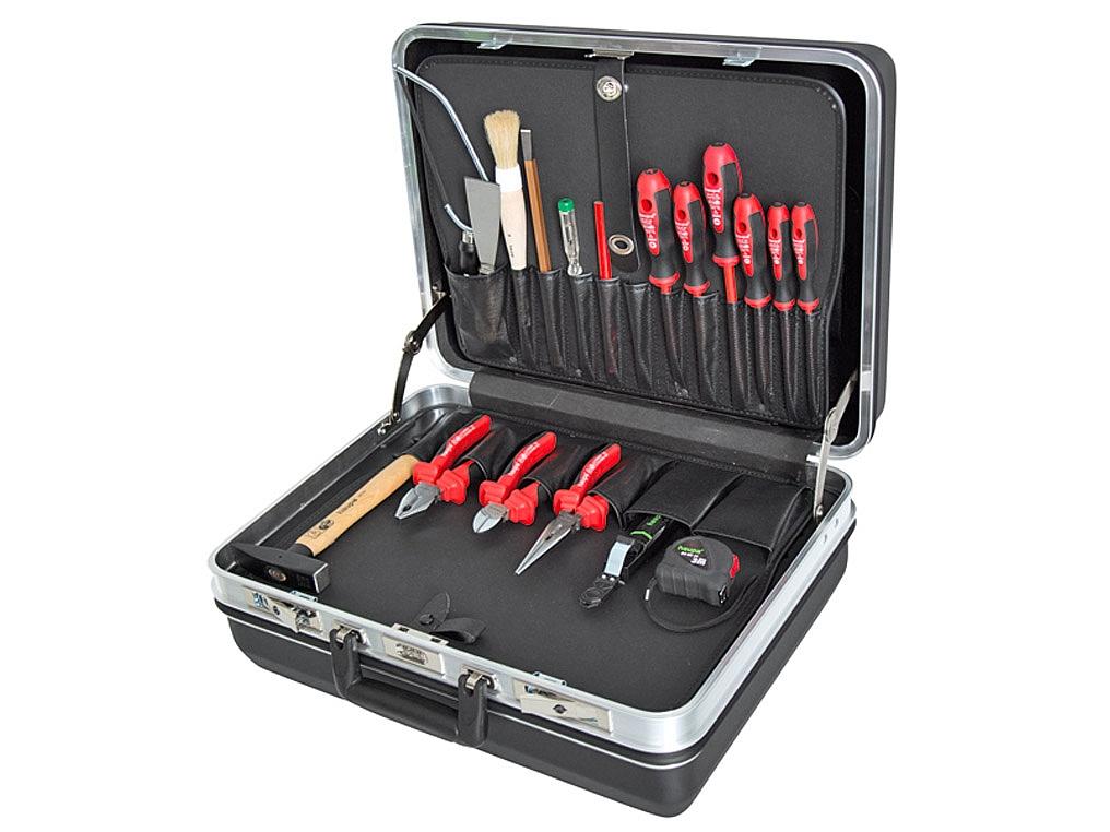 HAUPA 220043 walizka narzędziowa z wyposażenie 19 elementów