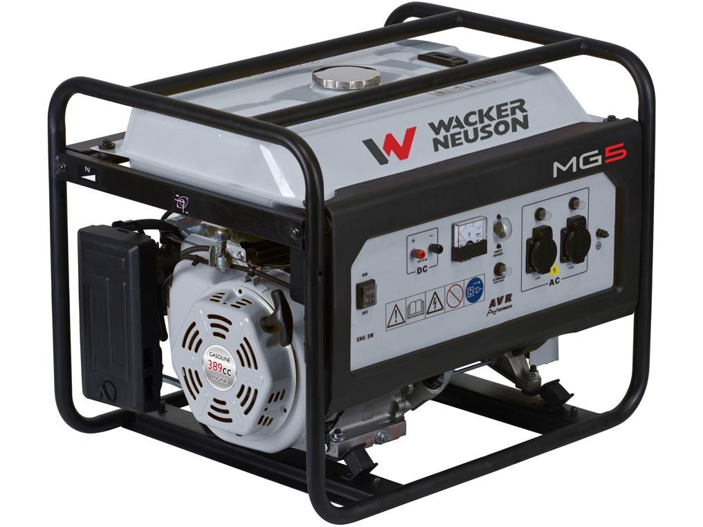 WACKER NEUSON MG5 agregat prądotwórczy 5,0 kW