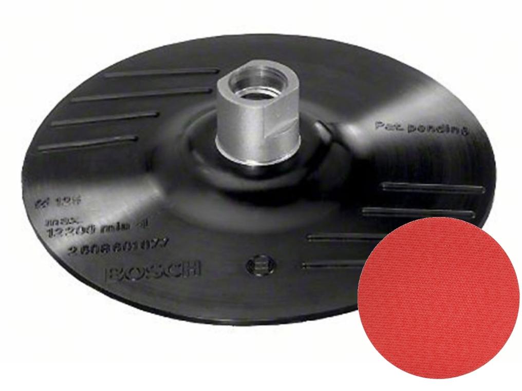 BOSCH dysk tarcza na rzep M14 125mm