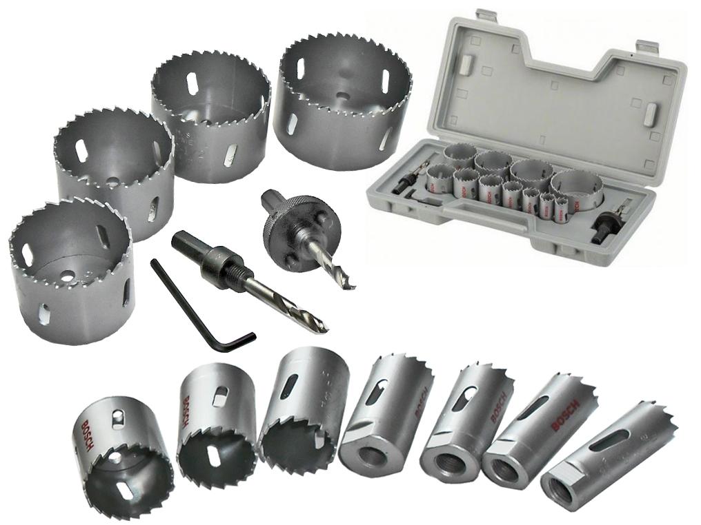 BOSCH zestaw otwornice HSS 19-76mm x11