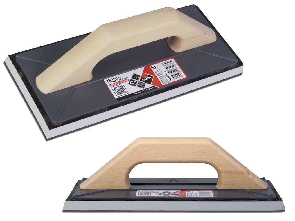 RUBI SuperPro 65976 paca gumowa uchwyt drewno 25x11cm