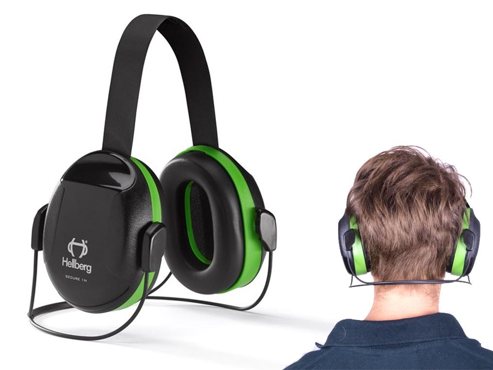 HELLBERG Secure 1 nauszniki słuchawki ochronne z obejmą na kark