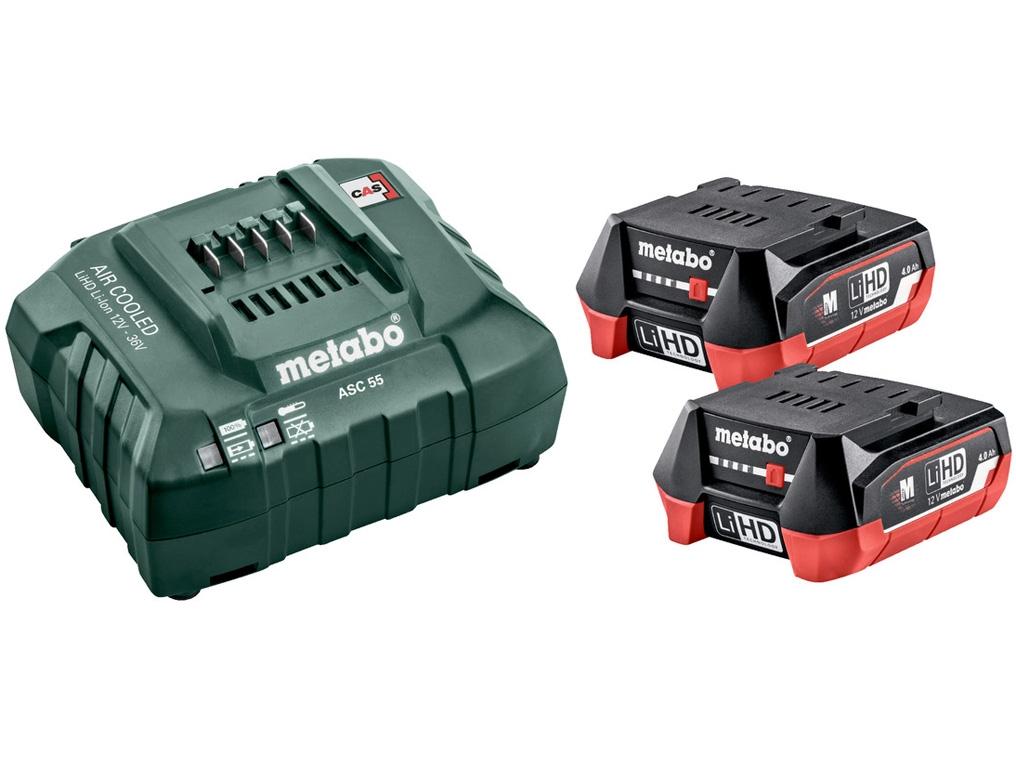 METABO SC 55 ładowarka akumulator 12V 4,0Ah x2