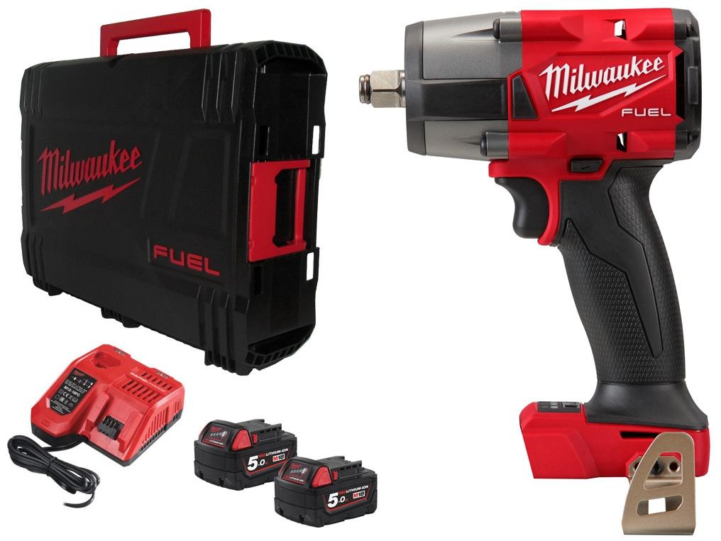 MILWAUKEE M18 FMTIW2F12-502X klucz udarowy 1/2 745Nm 5Ah