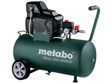 METABO BASIC 250-50 W OF sprężarka bezolejowa 50 L