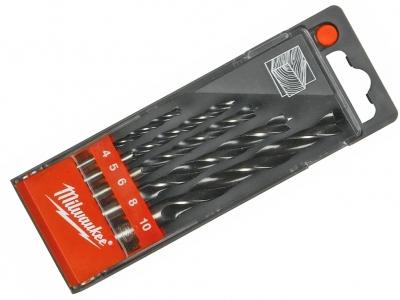 MILWAUKEE zestaw wiertła drewna 4-10mm 4932352465