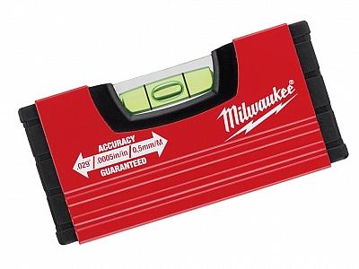 MILWAUKEE poziomica kieszonkowa alu 10cm
