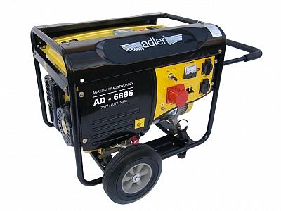 ADLER AD688S agregat prądotwórczy 6,8kW 230 / 400V