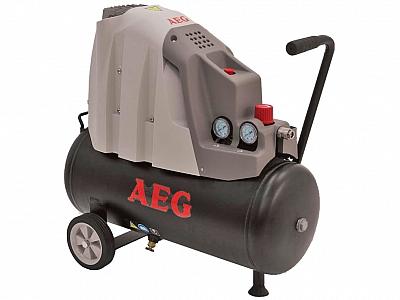 AEG L24-2 sprężarka kompresor 8 bar 24l