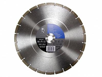 ATLAS NORTON tarcza diamentowa UNI 350mm / 25,4mm