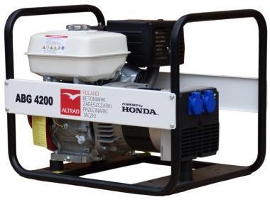 BELLE HONDA ABG4600 agregat prądotwórczy 4,6kW 230V AVR