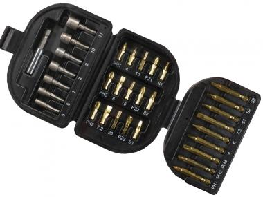 BLACK&DECKER A7094 zestaw bity nasadki x32