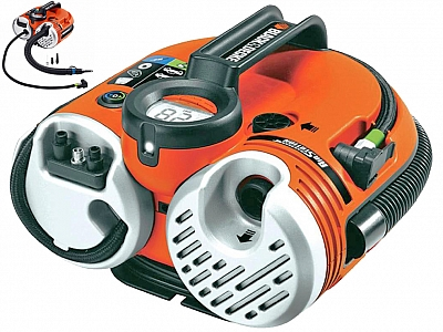 BLACK&DECKER ASI500 kompresor 12/230V