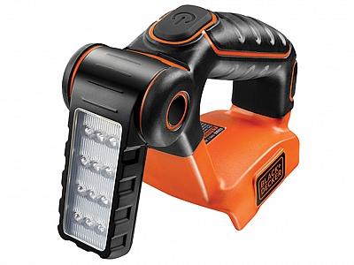 BLACK&DECKER BDCF18 18V lampa latarka