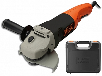 BLACK&DECKER KG1202K szlifierka kątowa 125mm