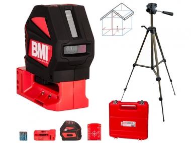 BMI AUTOCROSS 3 laser krzyżowy statyw