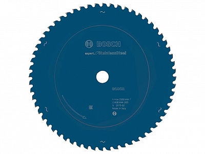 BOSCH EXPERT FOR INOX tarcza do metalu 255mm/50z/25,4mm