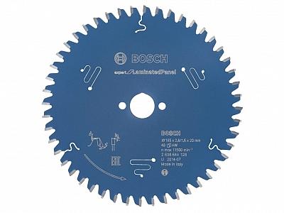 BOSCH EXPERT piła tarczowa laminat 165mm/48z/20mm