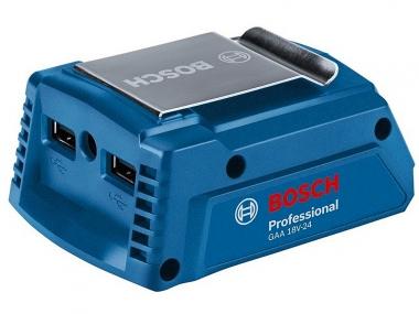 BOSCH GAA 18V-24 ładowarka USB adapter akumulator