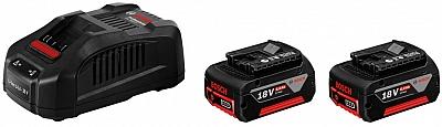 BOSCH GAL3680CV ładowarka 14,4-36V akumulatory 6Ah