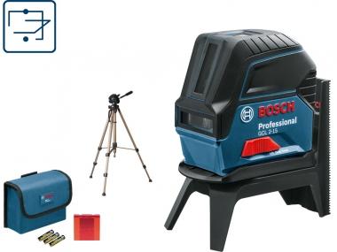 BOSCH GCL 2-15 laser krzyżowy punktowy + statyw
