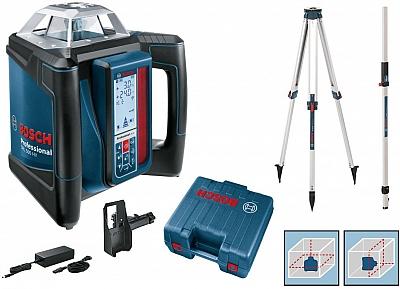 BOSCH GRL 500 HV laser obrotowy + LR50 statyw łata
