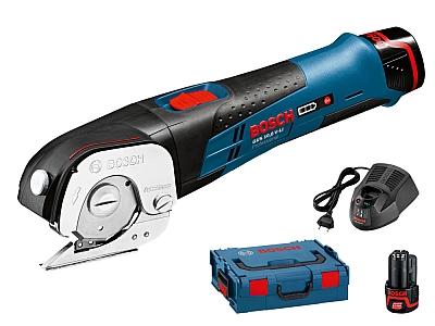 BOSCH GUS 12V-300 nożyce akumulatorowe 2,0Ah x2
