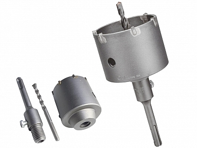 BOSCH korona wiertło betonu 82mm SDS-Plus