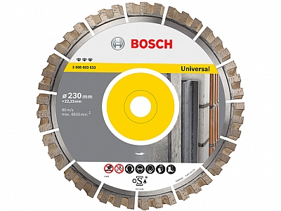 BOSCH tarcza diamentowa BEST UNIVERSAL 230mm