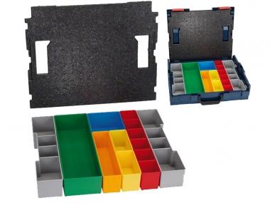 BOSCH wkład 13 szt. pudełek do walizki L-BOXX 102