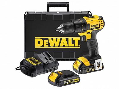 DeWALT DCD780C2 wkrętarka 18V 1,5Ah 60Nm