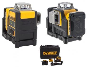 DEWALT DCE0811D1G laser krzyżowy ZIELONY 15m
