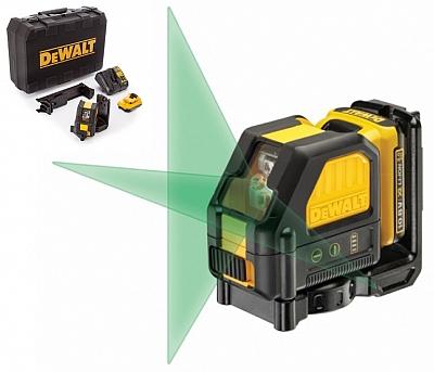 DeWALT DCE088D1G laser krzyżowy ZIELONY