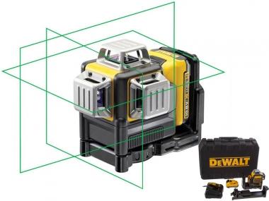 DEWALT DCE089D1G laser krzyżowy ZIELONY waliza