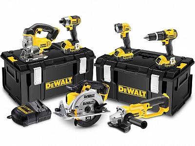 DEWALT DCK691M3 zestaw narzędzi 6szt. 18V