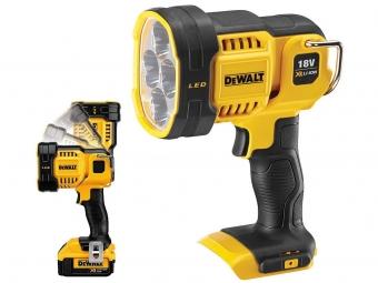 DEWALT DCL043 lampa latarka LED 18V
