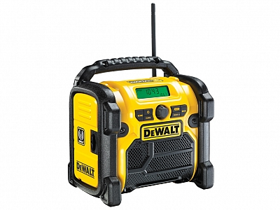 DEWALT DCR020 radio budowlane DAB+